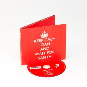 Personalised Christmas Keep Calm CD