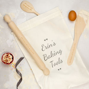 Personalised Baking Set - creative kits & experiences
