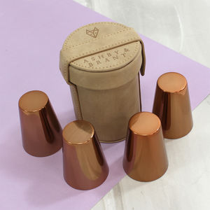 Copper Shot Glasses Set - shot glasses