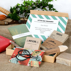 Gardeners Letter Box Hamper - gifts for him