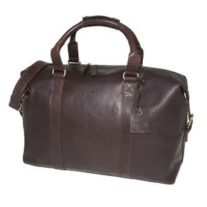 Leather Holdall Travel Bag Gym Bag 25% Off