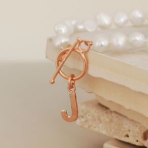 Personalised Rose Gold And Pearl Bracelet - what's new