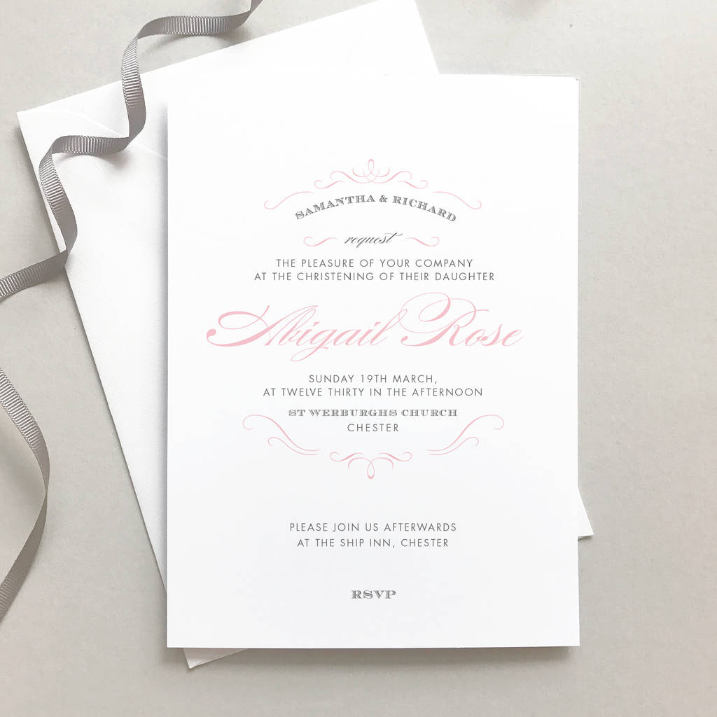 christening and baptism invitations