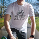 'When In Doubt, Pedal It Out' Men's Cycling T Shirt