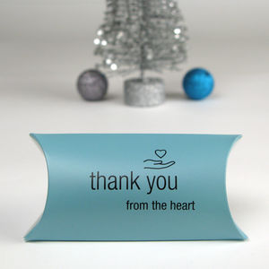 Sterling Silver Thank You Keepsake Gift