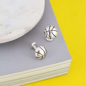 Personalised Basketball Cufflinks - men's accessories