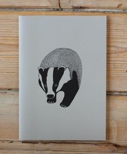 Badger A5 Exercise Book - writing