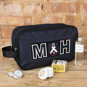 Personalised Sports Wash Bag - gifts for him