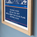 Football Stadium Chant Print