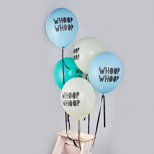 Whoop Whoop Balloons - outdoor decorations