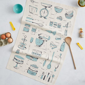 Baking Delight Tea Towel Teal