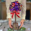 A Chocolate Tree Made With Cadbury Heroes