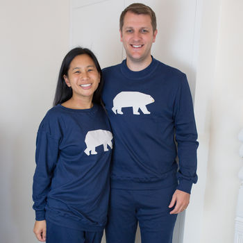Couples Pyjamas Polar Bear