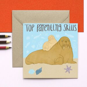 Walrus Top Parenting Skills Card