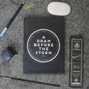 'A Dram Before The Storm' Notebook