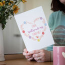 Personalised 'Will You Be My Flower Girl' Wedding Card