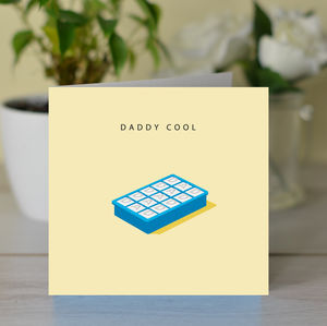 'Daddy Cool' Fathers Day Card - father's day cards