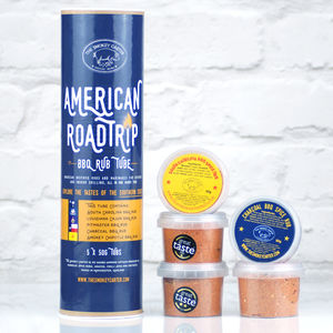 American Roadtrip Bbq Rub Tube Gift Set