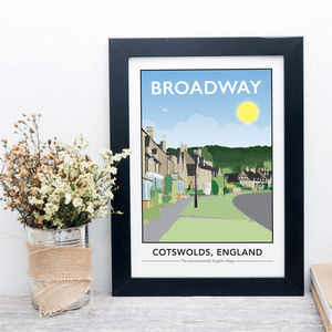 Broadway, Cotswolds Print