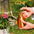 Copper Plated Garden Atomiser