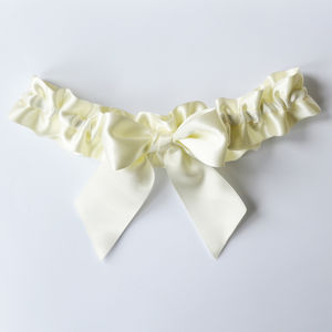 Handmade Simple Bow Garter