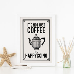 Coffee Art Print, For The Coffee Lover