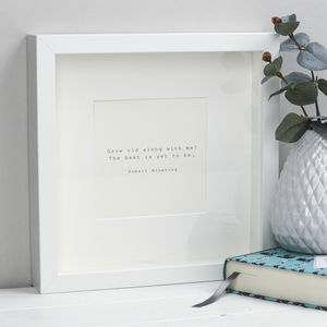 Romantic Literary Print - new lines added