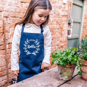 Personalised Kids My Gardening Apron