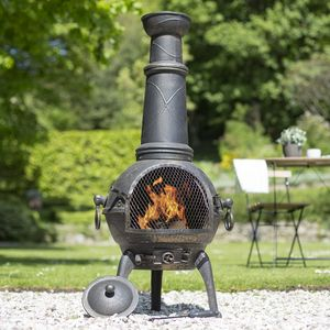 Extra Large Cast Iron Chimenea