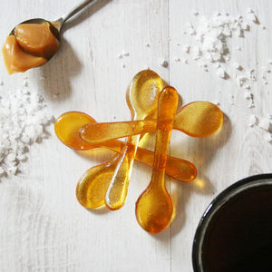 Salted Caramel Sugar Spoons - gifts for grandparents