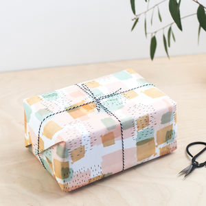 Luxury Brushstroke Gift Wrap
