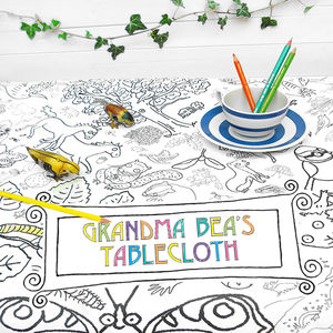 Colour In Tablecloth Countryside *Personalise It Option - toys & games