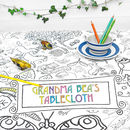 Colour In Tablecloth Countryside *Personalise It Option