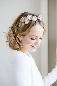 Halo Headdress - bridal hairpieces