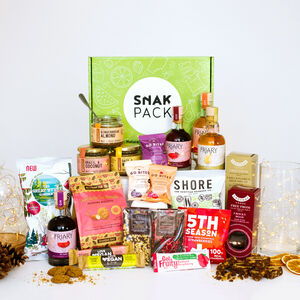 Vegan Luxury Hamper *Add Gin, Brandy Or Whisky*