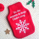 Tis The Season To Keep Cosy Hot Water Bottle Cover