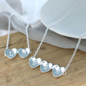 Personalised Anniversary Heart Necklace - necklaces & pendants