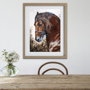 Horse Presents | Horse Prints On Canvas | Horse Gifts