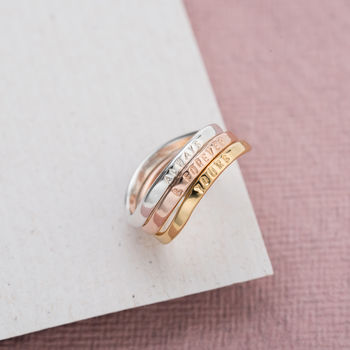 Personalised Infinity Ring