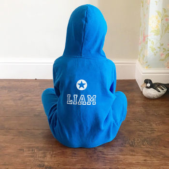 Personalised Star Children's Onesie
