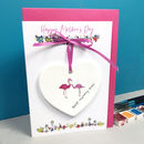 Personalised Mother's Day Keepsake Ceramic Card