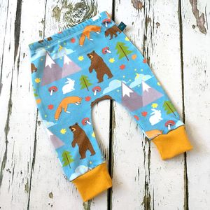 Winter Scene Baby Leggings