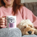 Personalised Dog In A Jumper Mug