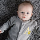 Alphabet Personalised Babygrow