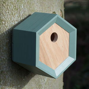 Handmade Geometric Bird House