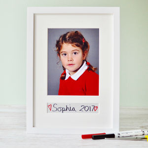 School Photo Mount - picture frames