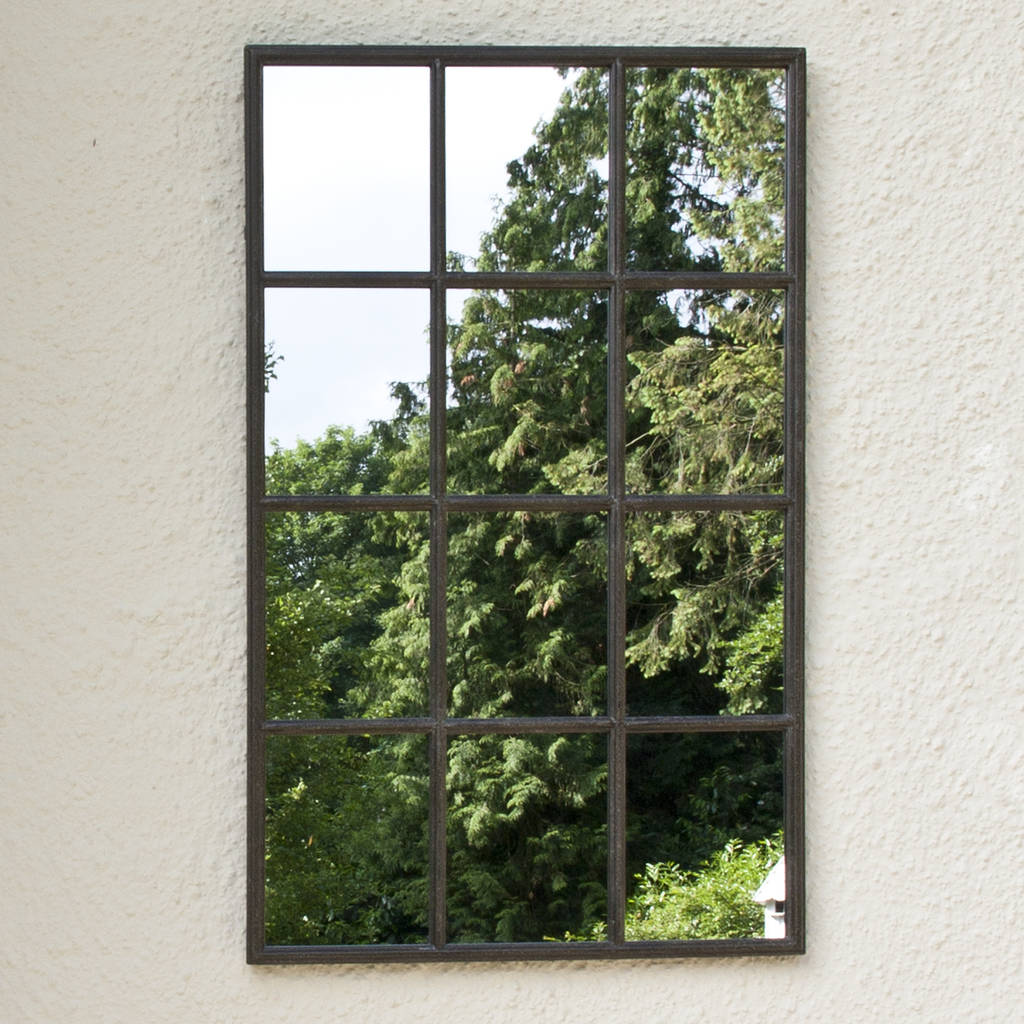 Mirror In Garden: Classic Outdoor Garden Mirror By Decorative Mirrors Online