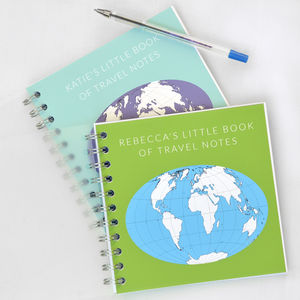 Little Book Of Travelling Notes - wanderlust & adventure
