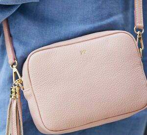 Leather Personalised Cross Body Bag