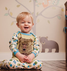 Bear Face Sleepsuit